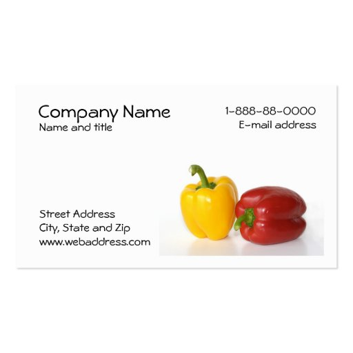 Health food Business Card Templates - Page3 | BizCardStudio