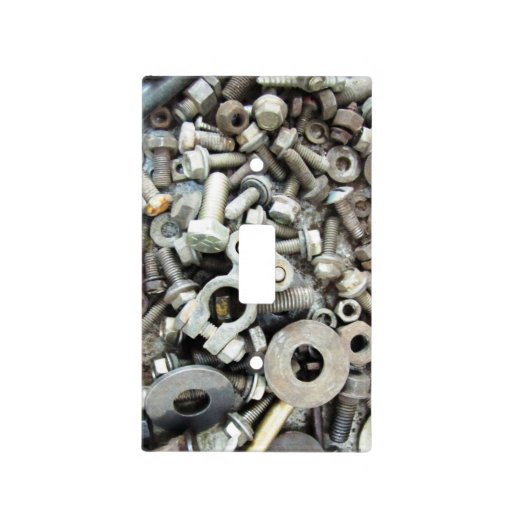 Light Pole Nut Covers: Nuts & Bolts Light Switch Cover