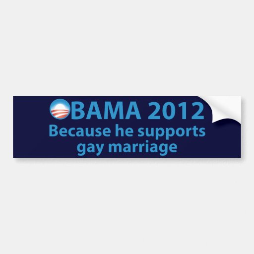 Pro Gay Marriage Bumper Stickers 55