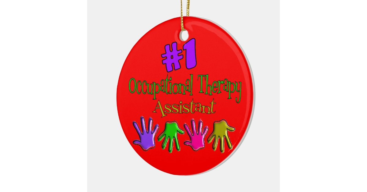 Occupational Therapy Assistant Christmas Ornament | Zazzle