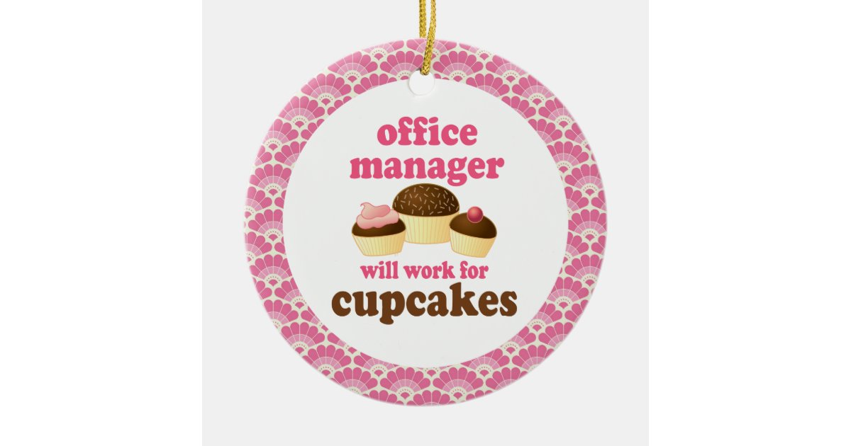Office Manager Gift Ornament | Zazzle