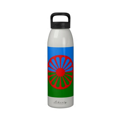 Official Romany gypsy flag Reusable Water Bottles   Zazzle
