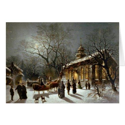 Old Fashioned Christmas Card   Zazzle