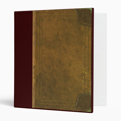 Old Leather Book Cover Binder