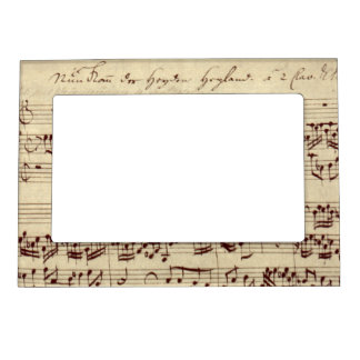 Music Magnetic Frames, Music Picture Frame Magnets