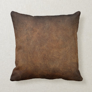 Faux Leather Pillows Decorative Amp Throw Pillows Zazzle