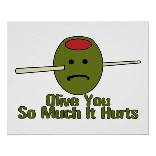 Olive You So Much It Hurts Poster