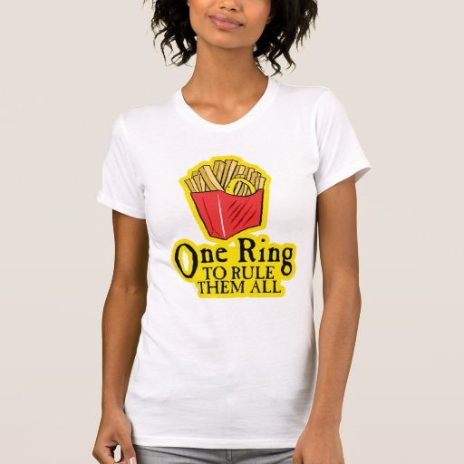 One Ring To Rule Them All Ring To Find Them One Ring To: One Ring To Rule Them All T-Shirt