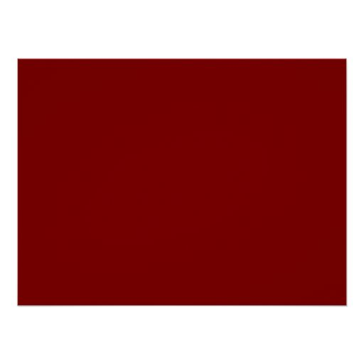 Only cool red wine maroon solid color background poster ...