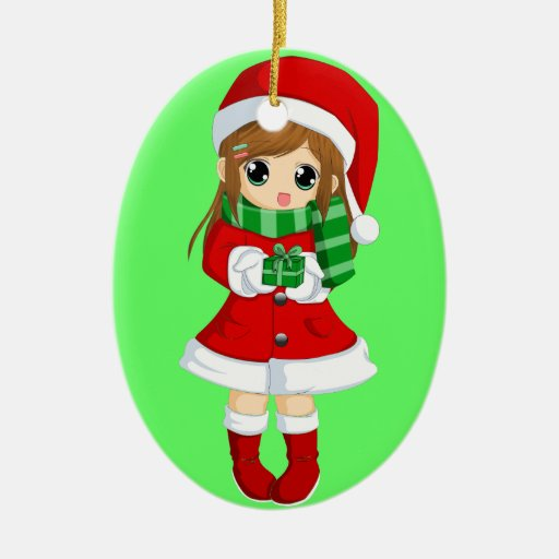OPUS CHANGEABLE Japanese anime xmas and xmas bell Ceramic ...