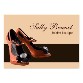 78 shoes store businesscards zazzle. Black Bedroom Furniture Sets. Home Design Ideas