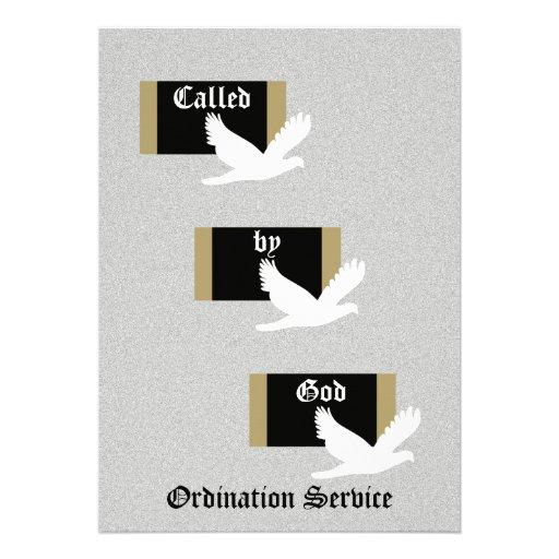 Personalized Ordination Invitations