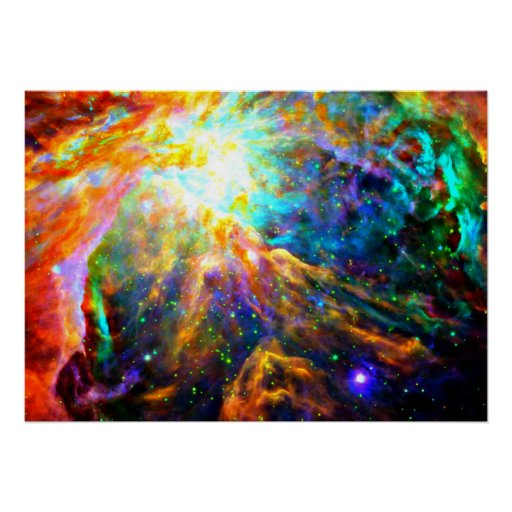 Orion Nebula - Emission Nebula Poster | Zazzle