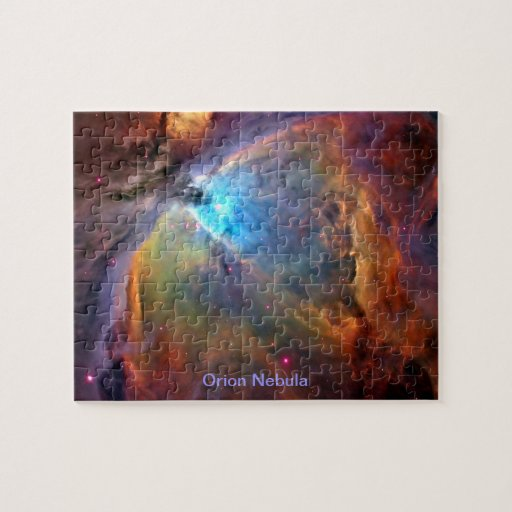 Orion Nebula Space Galaxy Puzzle | Zazzle
