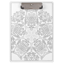 OrnaMENTALs #0014 Parliament Color Your Own Clipboard