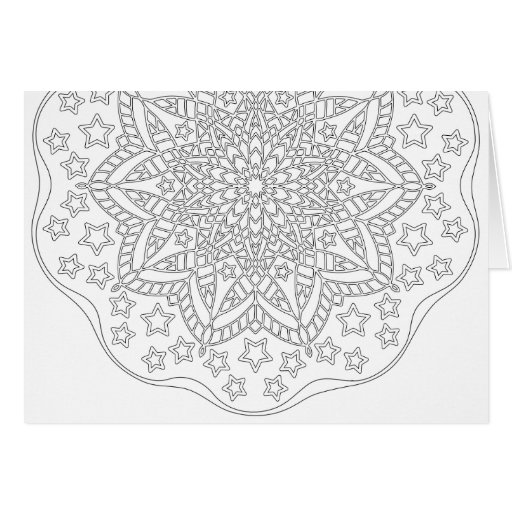 stars and stripes coloring pages - ornamentals 0015 stars and stripes color your own card