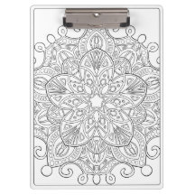 OrnaMENTALs #0030 Majestic Star Color Your Own Clipboard