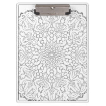 OrnaMENTALs What Direction #0011 Color Your Own Clipboards