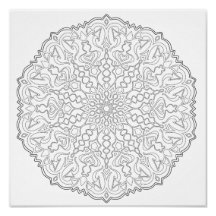 OrnaMENTALs What Direction Coloring Page #0011 Poster