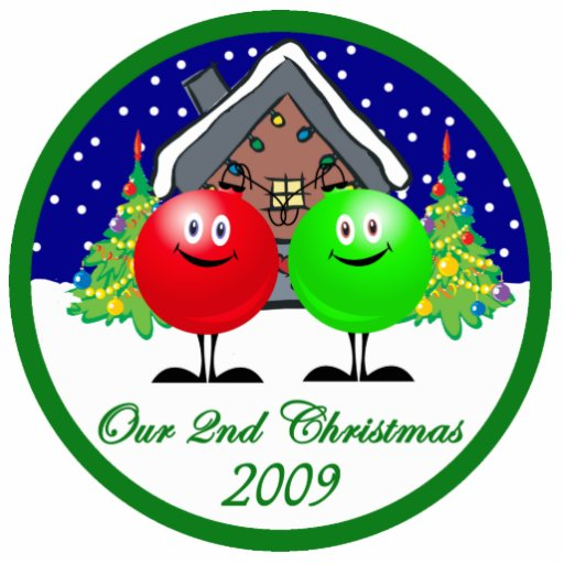 Our 2nd Christmas Ornament 09 | Zazzle