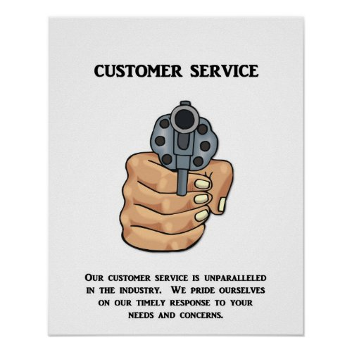 Inspirational Customer Service Quote Humor