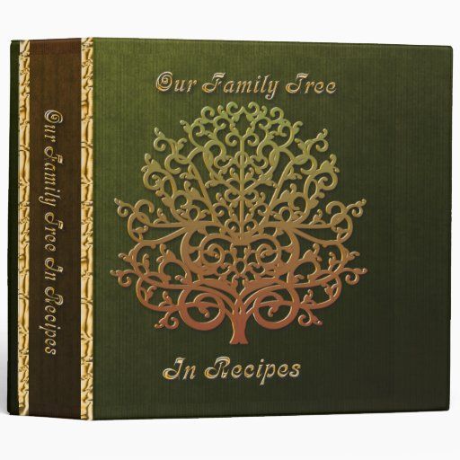 Our Family Tree In Recipes 3 Ring Binder