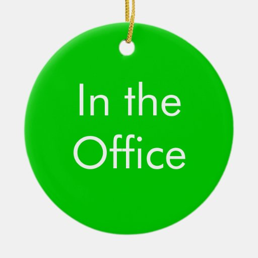 Out of Office / In the Office Sign Christmas Tree ...