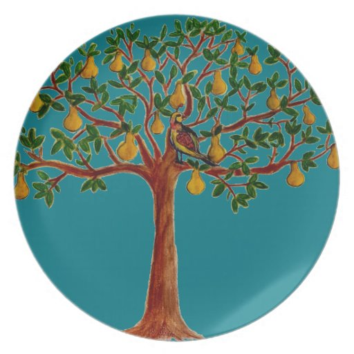 Peartree Apartments: P In A Pear Tree On Party Plate