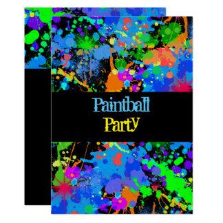Splatter Paint Invitations Amp Announcements Zazzle