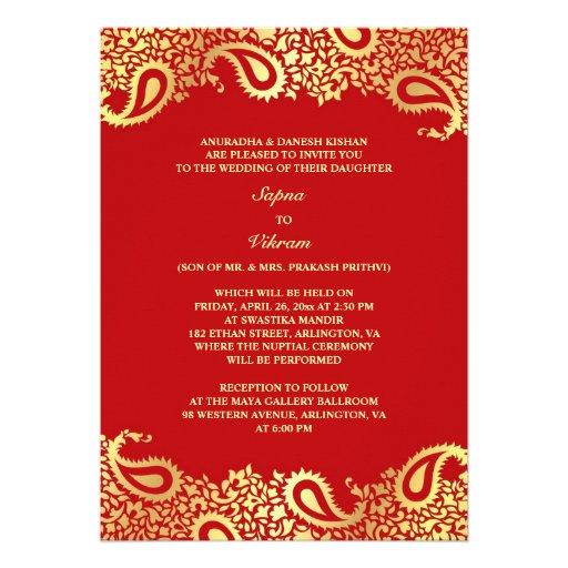 Personalized Chinese Wedding Invitations
