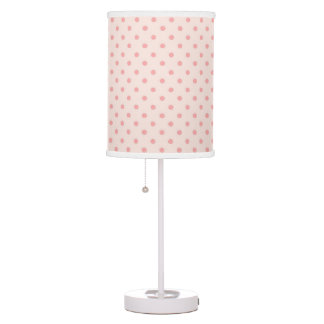 Blush Pink Table Amp Pendant Lamps Zazzle