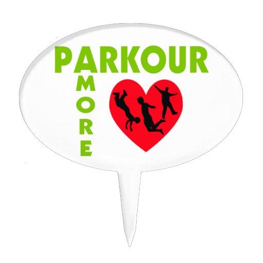 Parkour Cake Topper