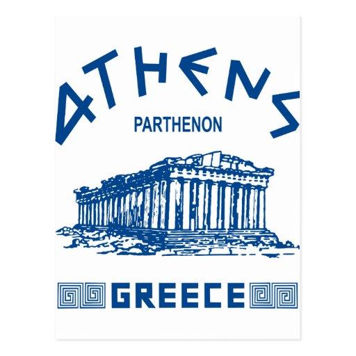 Greek Postcards & Postcard Template Designs