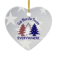 Patriotic Christmas Ornaments.Patriotic Military Christmas Ornaments Customize Text Or
