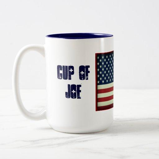 Patriotic Cup Of Joe Beverage Mug Zazzle