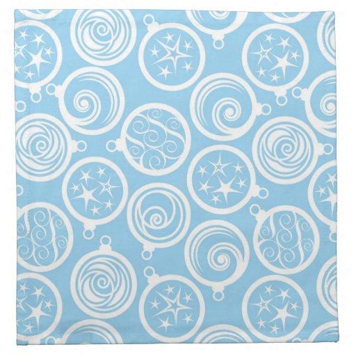 Christmas Tree Napkin Pattern: Pattern Background With Christmas-tree Napkin