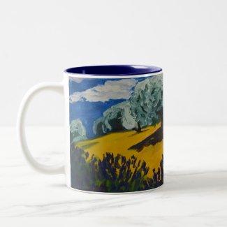 Paysage Provençal mug