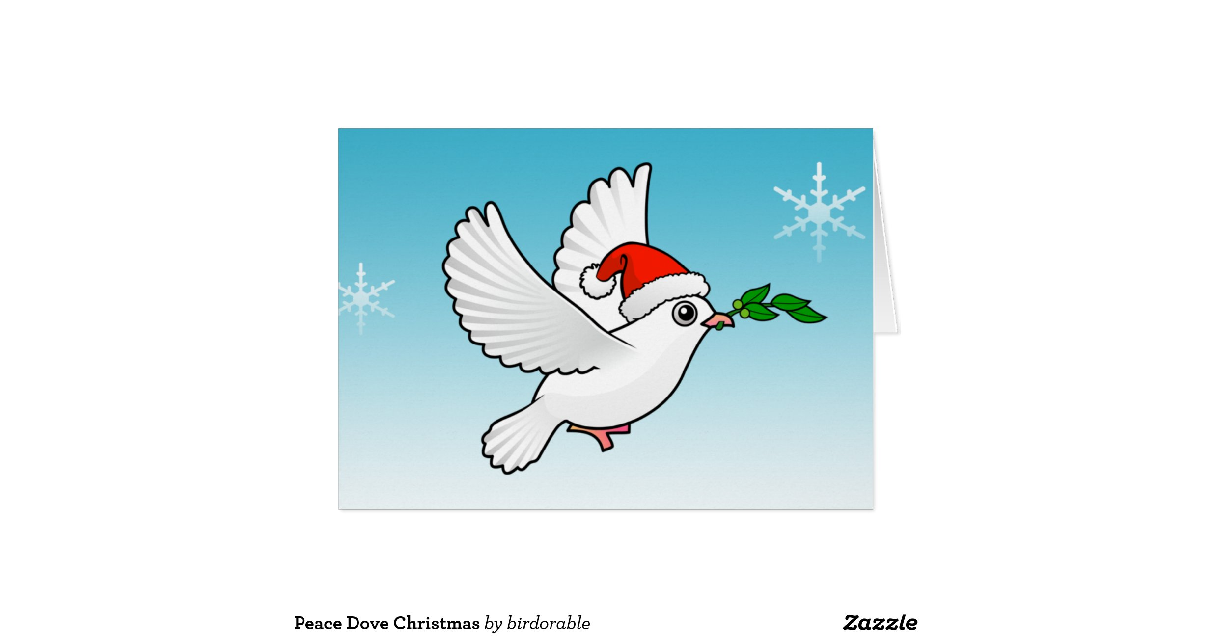 peace_dove_christmas_greeting_card ...