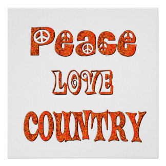 Country Music Posters Zazzle