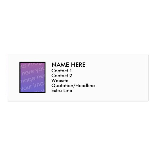 Pecking order 2 sided s blackbird n rainbowz double for 2 sided business cards templates free