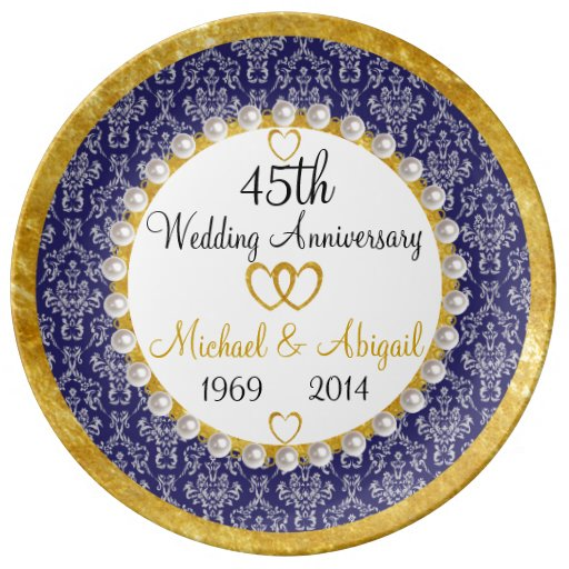 45 Wedding Anniversary Gift For Parents: Parents 45th Anniversary Gifts