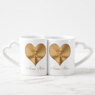 Personalized 50th Wedding Anniversary Gifts MUGS Lovers Mug