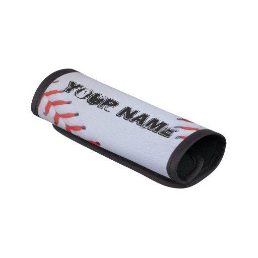 Personalized Baseball Luggage Handle Wrap Zazzle