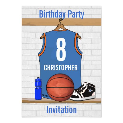 67521a7ea Personalized Basketball Jersey (LBO) Custom Announcements