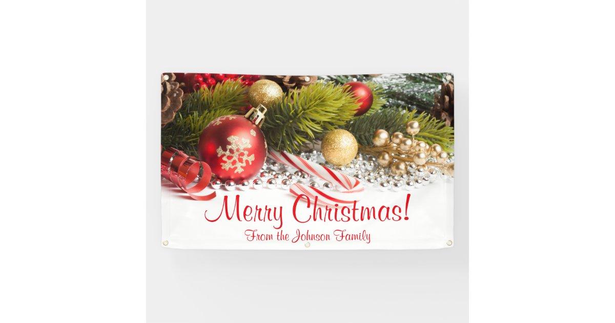 christmas ornaments banner - photo #43