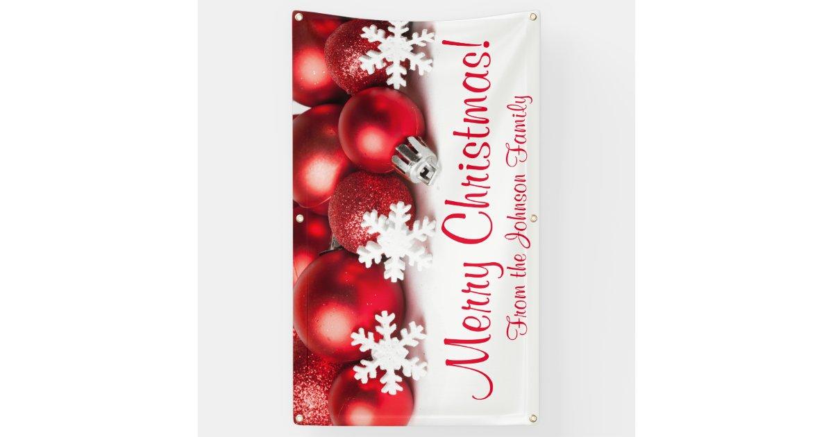 christmas ornaments banner - photo #41