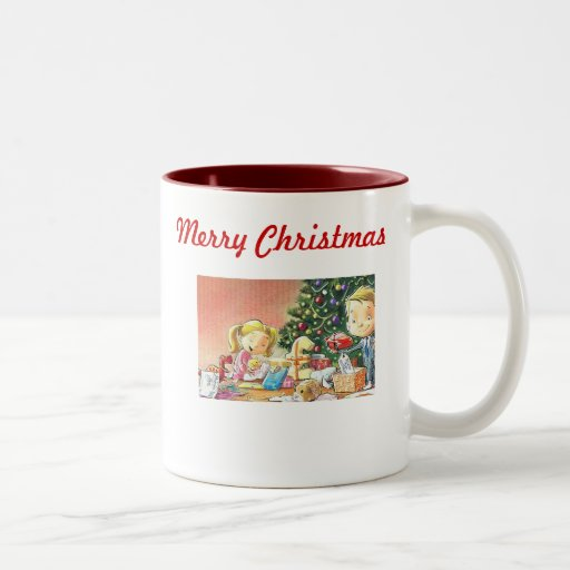 Personalized Christmas Coffee Mugs-Old Fashioned M | Zazzle
