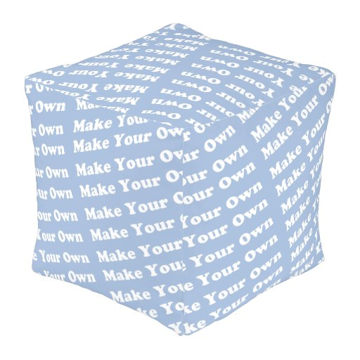 Design Your Own Exterior: Personalized Create Your Own Custom Outdoor Pouf
