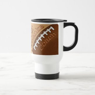 Personalized Football Coach Gifts, His NAME Mug