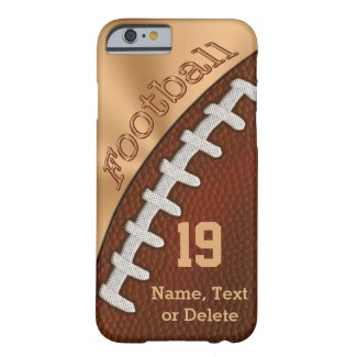 Personalized Football iPhone 6 Cases iPhone 6 Case